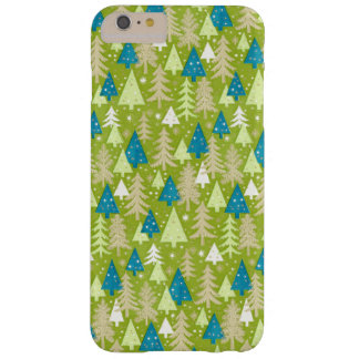 iPhone retro de los árboles de navidad el | 6 Funda Barely There iPhone 6 Plus