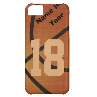 iPhone retro personalizado 5 casos del baloncesto
