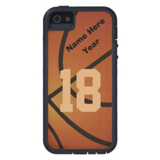 iPhone retro personalizado 5 casos del baloncesto Funda Para iPhone 5 Tough Xtreme
