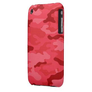 iPhone rojo 3G-3GS de la casamata de Camo Funda Para iPhone 3