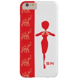 iPhone rojo 6 de Barely There de la casamata del Funda De iPhone 6 Plus Barely There