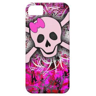 iPhone rosado 5 del cráneo iPhone 5 Case-Mate Cárcasas