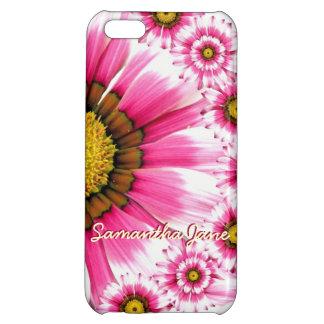 iphone rosado de la caja del teléfono celular de l