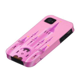 iPhone rosado de la casamata del sueño del amor de Vibe iPhone 4 Fundas