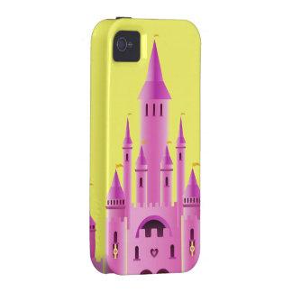 iPhone rosado de la casamata del sueño del amor iPhone 4/4S Carcasa