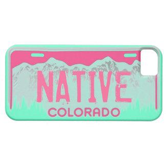 Iphone rosado nativo 5 de la placa del trullo de iPhone 5 carcasas