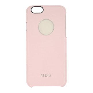 iPhone rosado personalizado 6/6s Funda Clear Para iPhone 6/6S