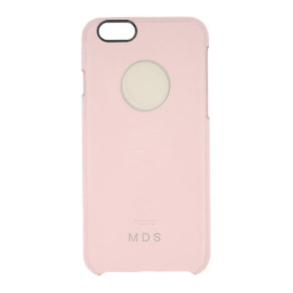 iPhone rosado personalizado 6/6s Funda Clearly™ Deflector Para iPhone 6 De Uncommon