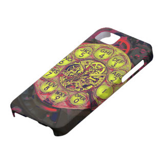 iphone rotatorio del estilo del steampunk iPhone 5 fundas