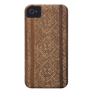 iPhone samoano de la tabla hawaiana del Tapa 4 cas Case-Mate iPhone 4 Carcasa