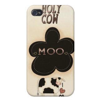 iPhone santo 4 de la caja del MOO Speck® Fitted™ d iPhone 4 Carcasa