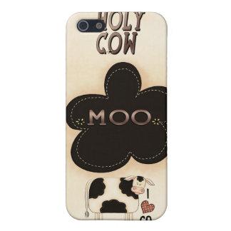 iPhone santo 4 de la caja del MOO Speck® Fitted™ d iPhone 5 Protector