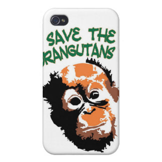 iPhone Save the Orangutans OFI iPhone 4 Case