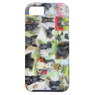 IPhone Scotties in the wood iPhone SE/5/5s Case