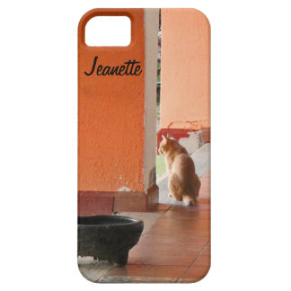 iPhone SE, 5/5S Barely There Cat El Gato Case