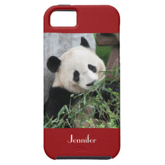 iPhone SE, 5/5s Case Giant Panda Red
