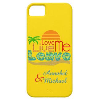 iPhone SE/5/5S Case - Valentine Sea Sun Love Beach