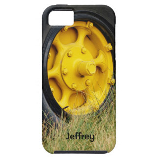 iPhone SE, iPhone 5/5s, Yellow Wheel Personalized iPhone SE/5/5s Case