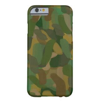IPhone seis cebadas allí camufla Funda De iPhone 6 Barely There