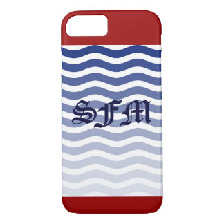 IPhone Six Barely There Red Whit Blue Strips iPhone 7 Case