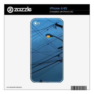 iPhone Skin - Glowing Morning Lamp Skin For iPhone 4S