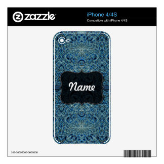 iPhone Skin indian style Decals For The iPhone 4S