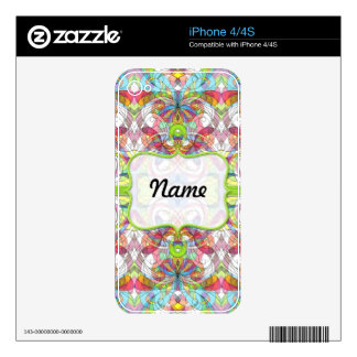 iPhone Skin indian style iPhone 4 Decal
