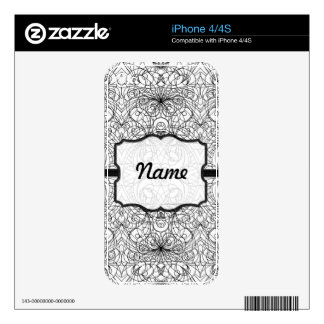 iPhone Skin indian style Skins For iPhone 4