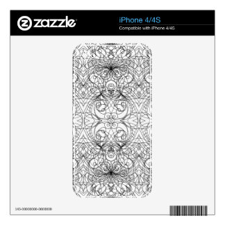 iPhone Skin indian style iPhone 4 Decals