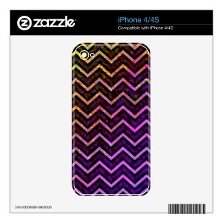iPhone Skin Retro Zig Zag Decal For The iPhone 4S