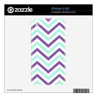 iPhone Skin Retro Zig Zag Chevron Pattern Decal For The iPhone 4