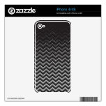 iPhone Skin Retro Zig Zag Chevron Pattern Skin For iPhone 4