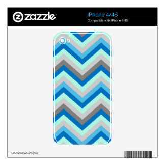 iPhone Skin Retro Zig Zag Chevron Pattern Decal For iPhone 4
