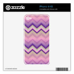 iPhone Skin Retro Zig Zag Chevron Pattern Decals For iPhone 4S