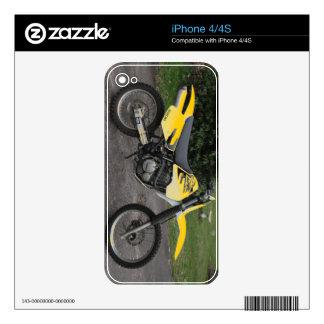 iPhone Skin Suzuki DR Dirt Bike Motorcycle iPhone 4 Decals