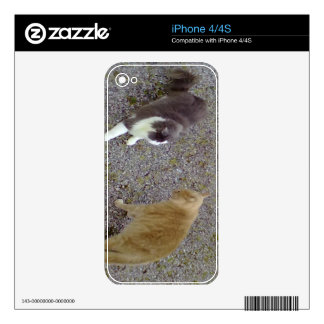 Iphone Skin Template Skin For iPhone  - Customized iPhone 4S Decals