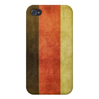 iPhone Skin with Dirty Flag from Germany iPhone 4 Case