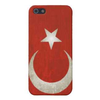 iPhone Skin with Dirty Flag from Turkey iPhone SE/5/5s Cover