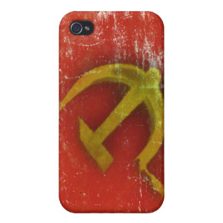 iPhone Skin with Dirty Old Soviet Union Flag iPhone 4/4S Case