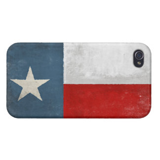 iPhone Skin with Distressed Vintage Texas Flag iPhone 4 Covers