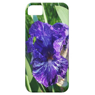 iphone skin with purple and white iris iPhone SE/5/5s case