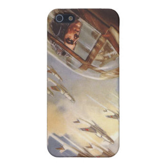 iPhone Skin with Vintage USSR Air Force Propaganda Case For iPhone SE/5/5s