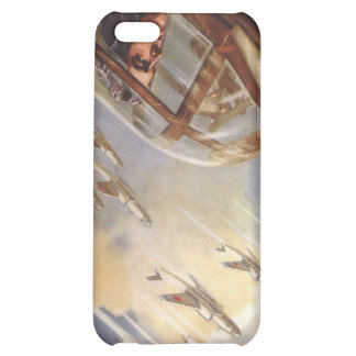 iPhone Skin with Vintage USSR Air Force Propaganda iPhone 5C Cases