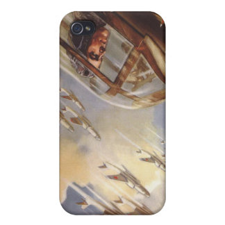 iPhone Skin with Vintage USSR Air Force Propaganda iPhone 4 Cover