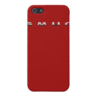 iPhone Smug Red iPhone SE/5/5s Case