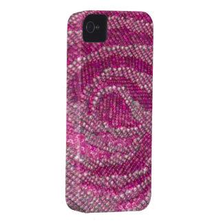 Iphone subió lentejuela funda-rosado funda para iPhone 4 de Case-Mate