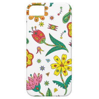 Iphone surrealista de las flores iPhone 5 Case-Mate cárcasa