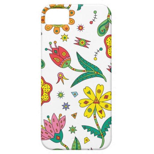 Iphone surrealista de las flores iPhone 5 Case-Mate carcasa