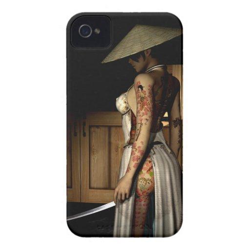iPhone tatuado 4/4S de la identificación de la cas iPhone 4 Case-Mate Carcasas