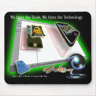 iPhone Technology Unfurled 1 Mouse Mat